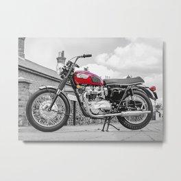Classic T120 Bonneville Metal Print