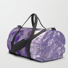 Ultra Violet Crystal Duffle Bag