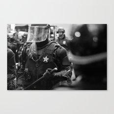 Swat Patrol Canvas Print