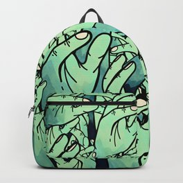 Zombie hands Backpack