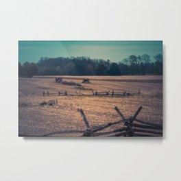 View of Antietam National Battlefield Civil War Battleground Maryland Metal Print