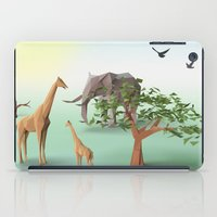 africa iPad Cases featuring Africa by CharismArt