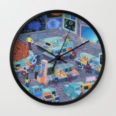 Command Center Wall Clock