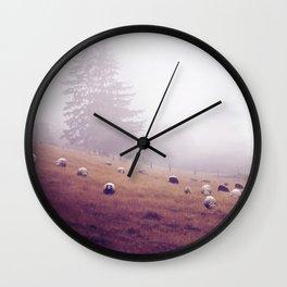 grazing Wall Clock