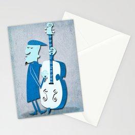 Jazz Man Stationery Cards