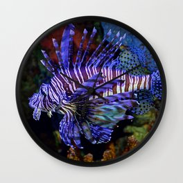 Pterois Wall Clock