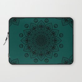 Teal Mandala Laptop Sleeve