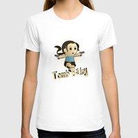 lara croft T-shirts featuring Geek Babies: Lara by Deanna Marie: Art & Design