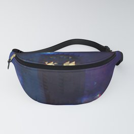 Pixelated in Space and Time Fanny Pack