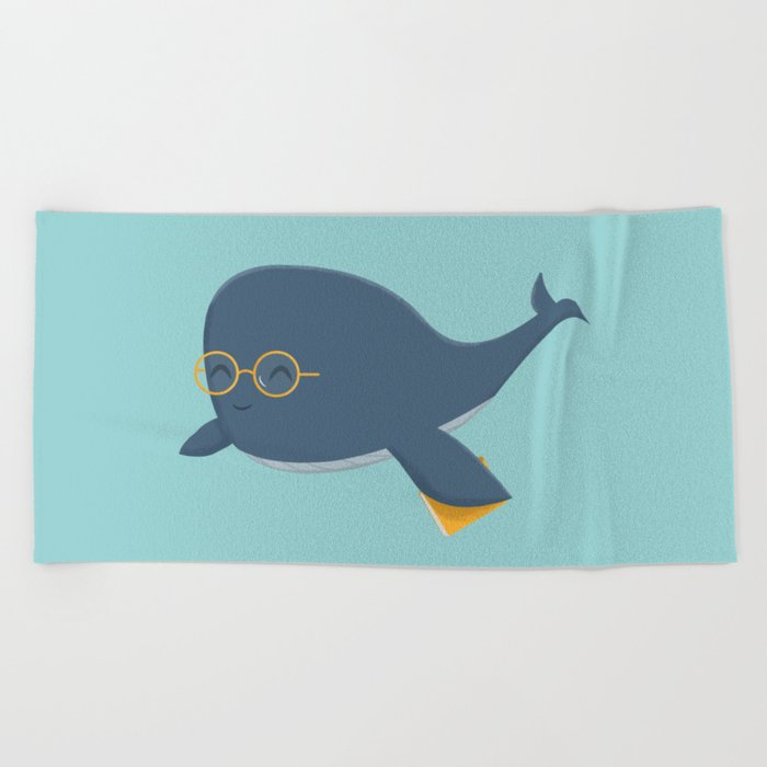 Ms. Whale Beach Towel