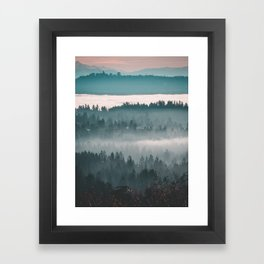 Layers upon Layers Framed Art Print