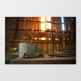 Rust and Sunset Canvas Print