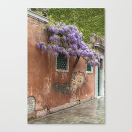 Venezia- Flower tree Canvas Print