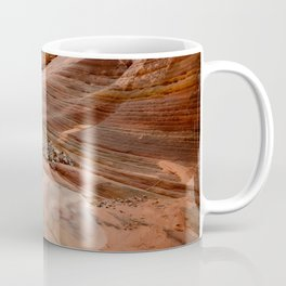 After the Rain - 4, Valley_of_Fire Canyon, Nevada Coffee Mug
