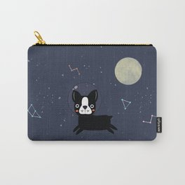 Boston Terrier In Space Carry-All Pouch