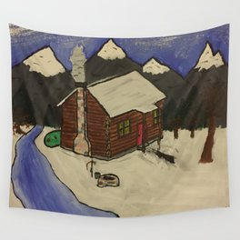 off the grid Wall Tapestry