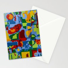 Geometric Garden Stationery Cards
