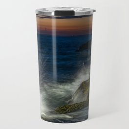 Peggys cove sunset Travel Mug