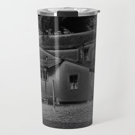 Chalk & Charcoal Of A Condemned Home #1 Travel Mug