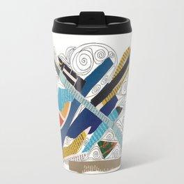 Multicolor collage doodle 501 Travel Mug
