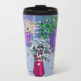 Cascade Flowers Metal Travel Mug