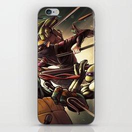 TMNT Go! iPhone Skin