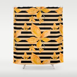 Autumn leaves #14 Shower Curtain