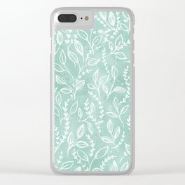 Add Spice to your Life: herb toss Clear iPhone Case