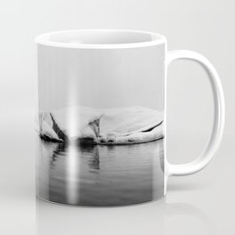 Iceland Black And White #society6 #home #decor Coffee Mug
