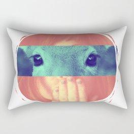 Regard de biche Rectangular Pillow