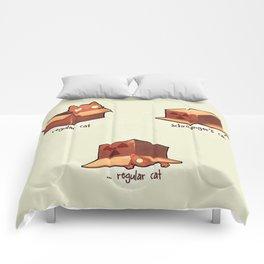 Schrödinger's cat Comforters
