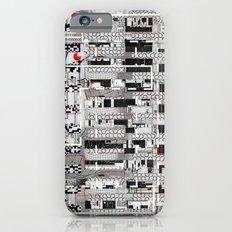 Opportunistic Species (P/D3 Glitch Collage Studies) Slim Case iPhone 6s