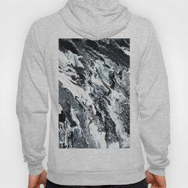 Marble in Black and White Hoody