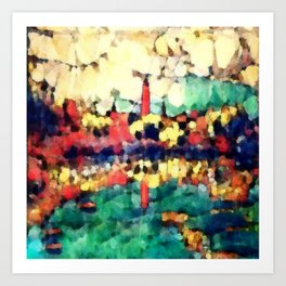 Hegemony:  The Dawn Lighthouse Art Print