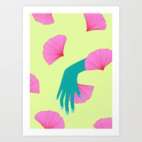 tired of indecision Art Print