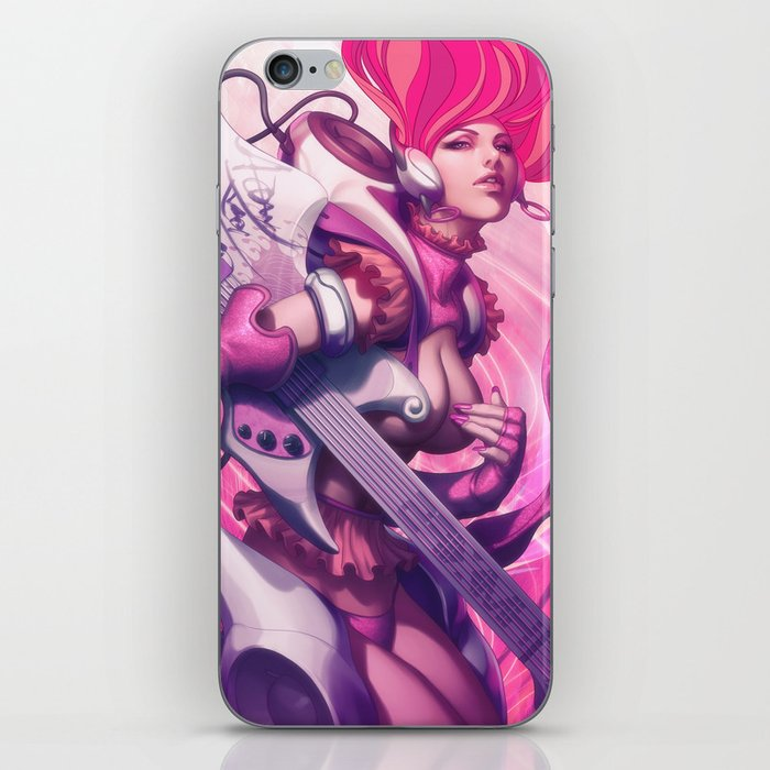 Pepper Heavy Metal iPhone Skin