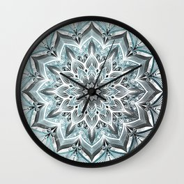 Imagination Turquoise Wall Clock