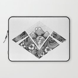 Geometric Nature Laptop Sleeve