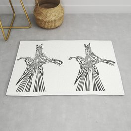 graphic love Rug