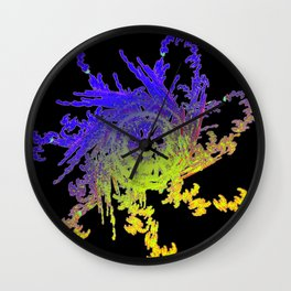 Daily Design 81 - Deep Space Construct Wall Clock