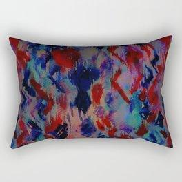 Ikat #3A Rectangular Pillow