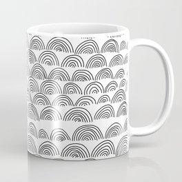 half circle pattern Coffee Mug