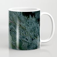 woods Mugs featuring Woods  by Cynthia del Rio