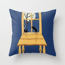Window Seat Throw Pillow