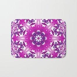 Pink and Purple Bath Mat