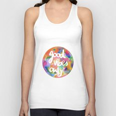 Good Vibes Only Unisex Tank Top