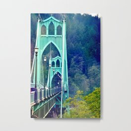 ST. JOHN'S BRIDGE Metal Print