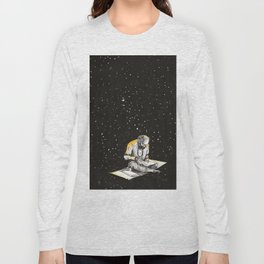 Allen Ginsberg in the sky Long Sleeve T-shirt