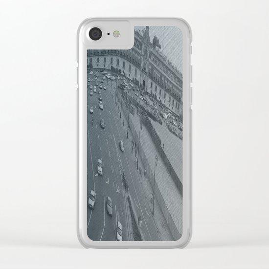 Plaza Zocalo, Mexico-city Clear iPhone Case