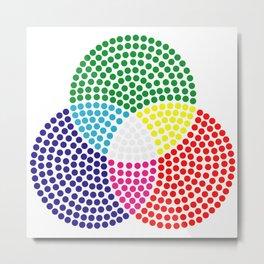 RGB Metal Print
